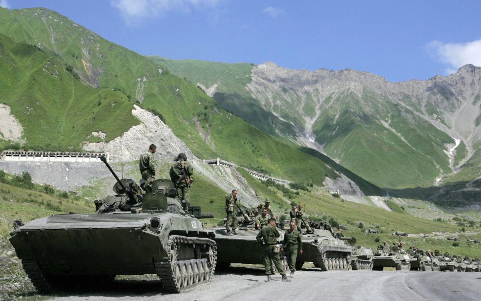 17.  Ossetia Selatan: