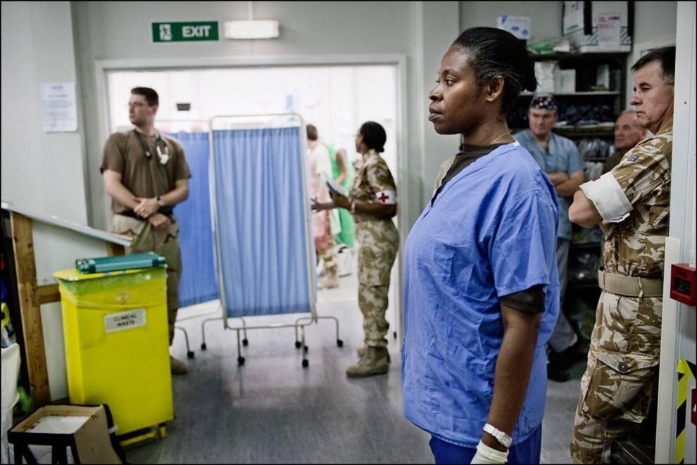 19) Медсестра MERT.