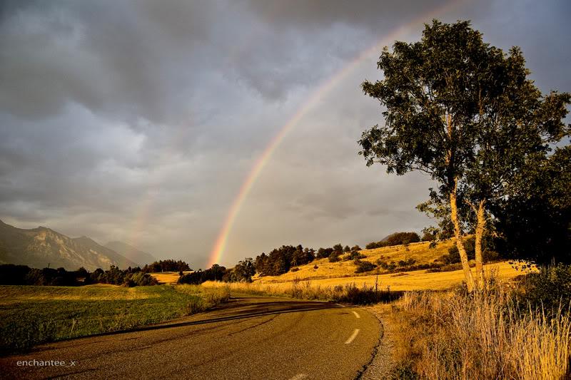 19) Франция, Прованс, Верхние Альпы сентябрь, во время дождя
