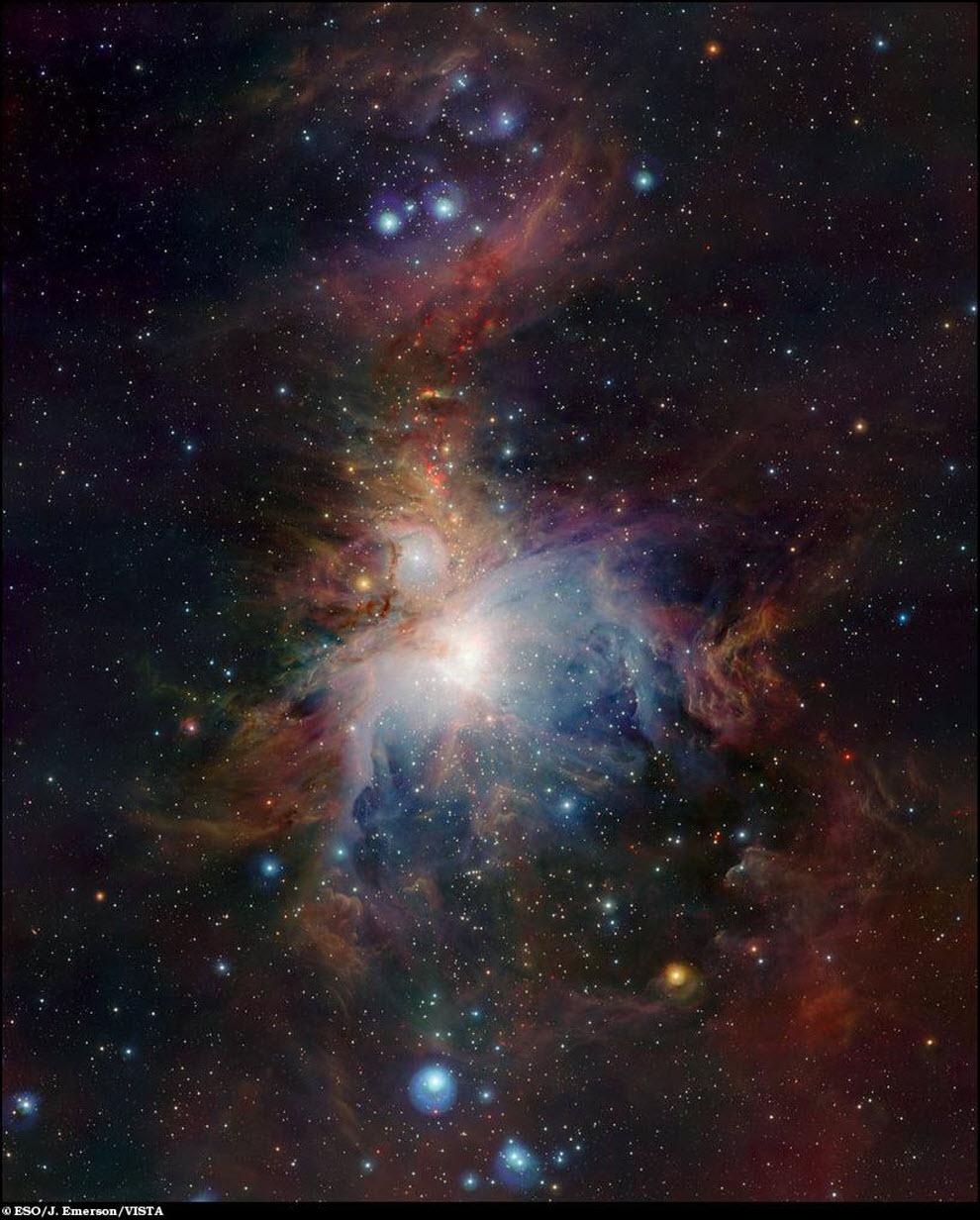 24) Туманность Ориона.