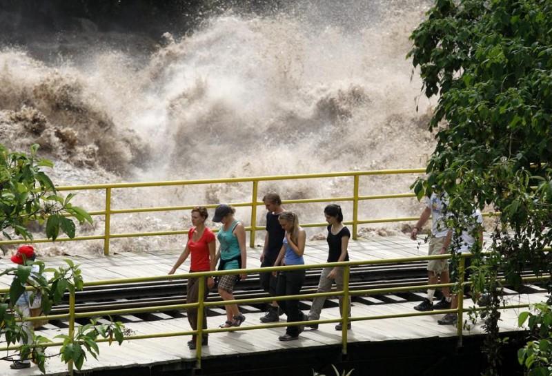 Сильнейшее наводнение вПеру