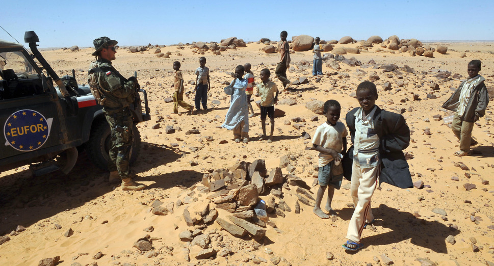 24.Дарфур, Судан: