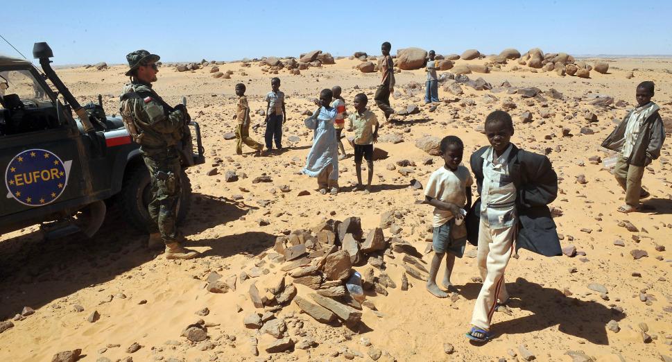 24.  Darfur, Sudan: