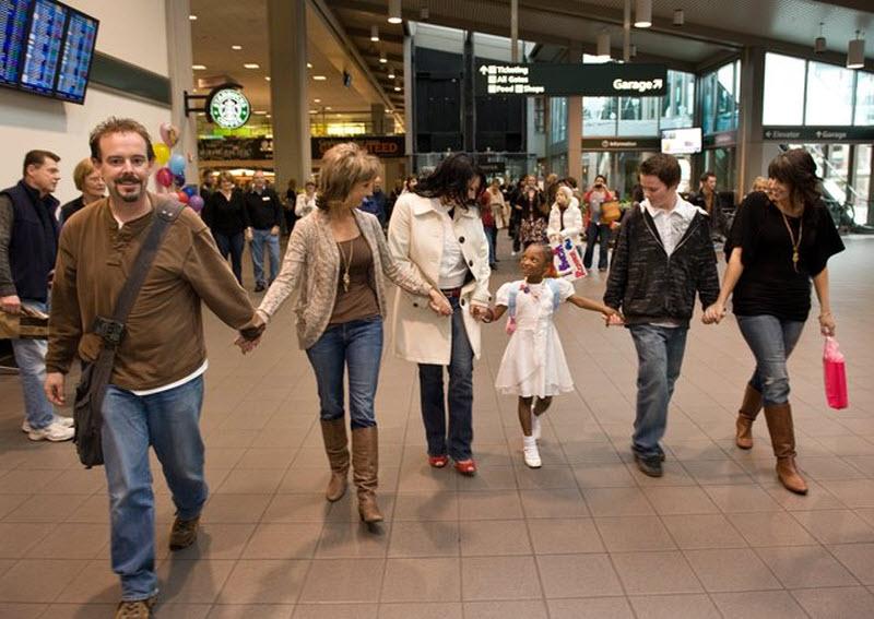 Новая счастливая семья