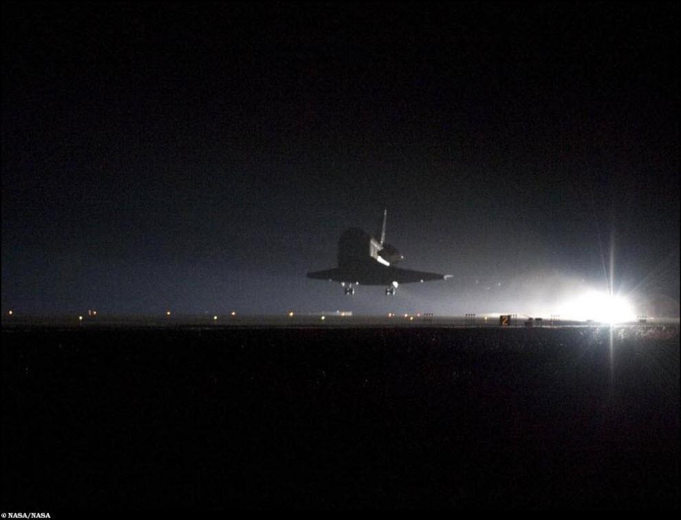 40) Ночное приземление.