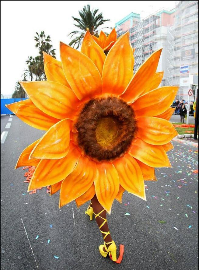 41) 126-ой карнавал в Ницце.
