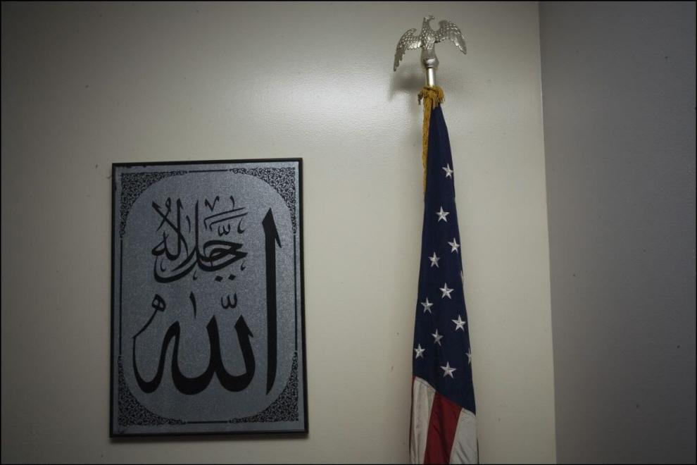 31) В мечети исламского центра в Толедо, Огайо.