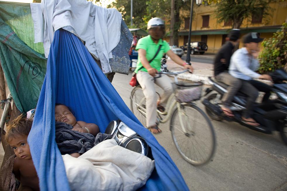 cambodig Бедность в Камбодже