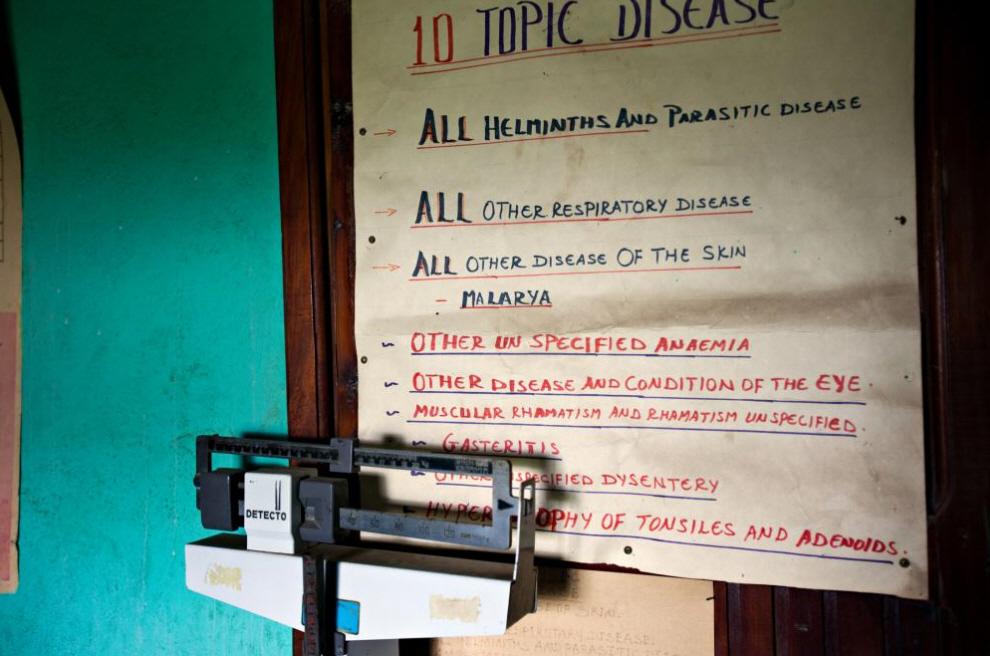 20. Государственная клиника в деревне Аддис Хивот. (Agton Strom)