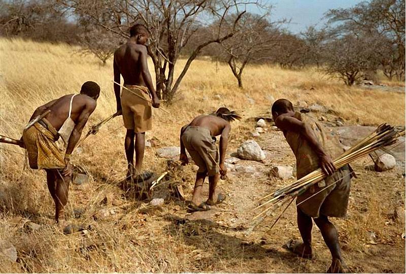 дикие племена рыбалка видео