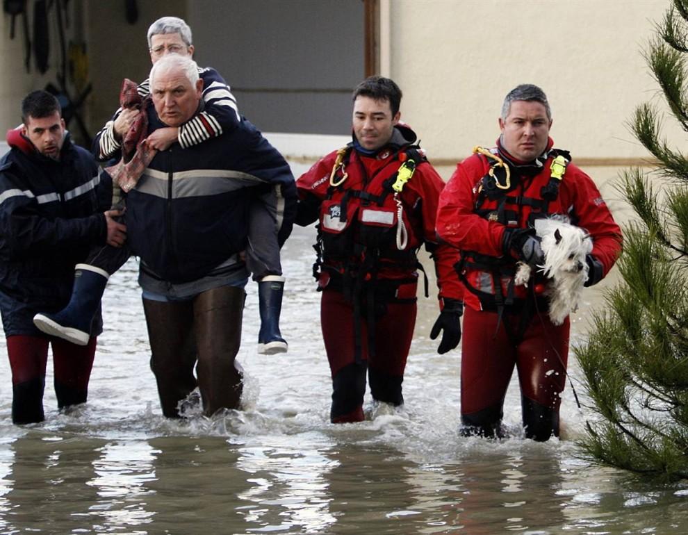 Europa huracan Cintia