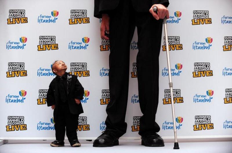 1162 Умер самый маленький человек в мире