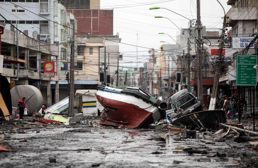 Картинка чилийского землетрясения