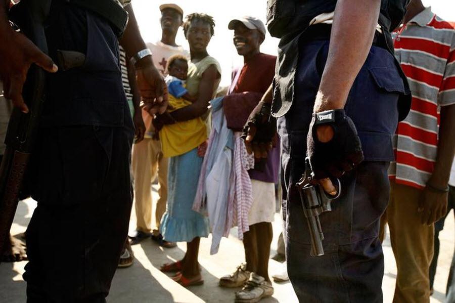 1310 orang Kristen terhadap vuduistov di Haiti