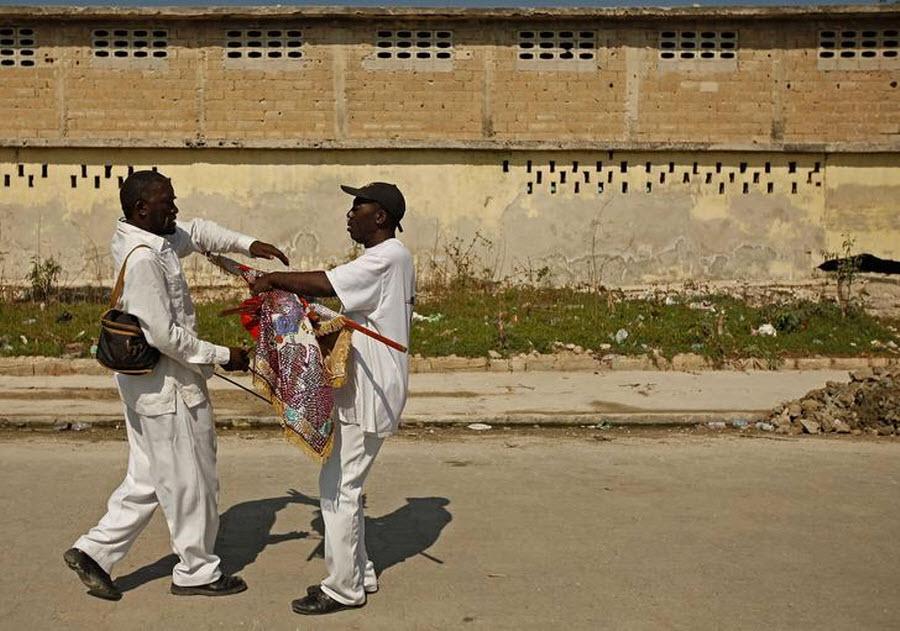 149 orang Kristen terhadap vuduistov di Haiti
