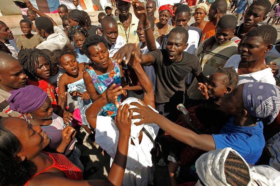 158 orang Kristen terhadap vuduistov di Haiti