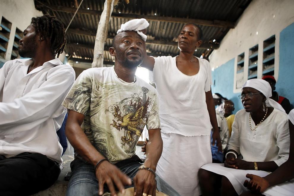 176 orang Kristen terhadap vuduistov di Haiti