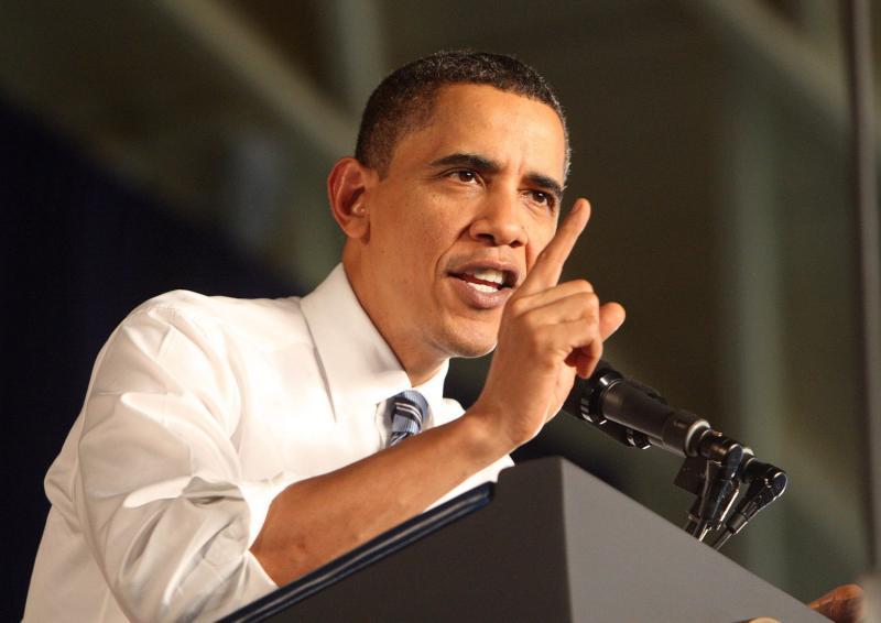 Палец Обамы