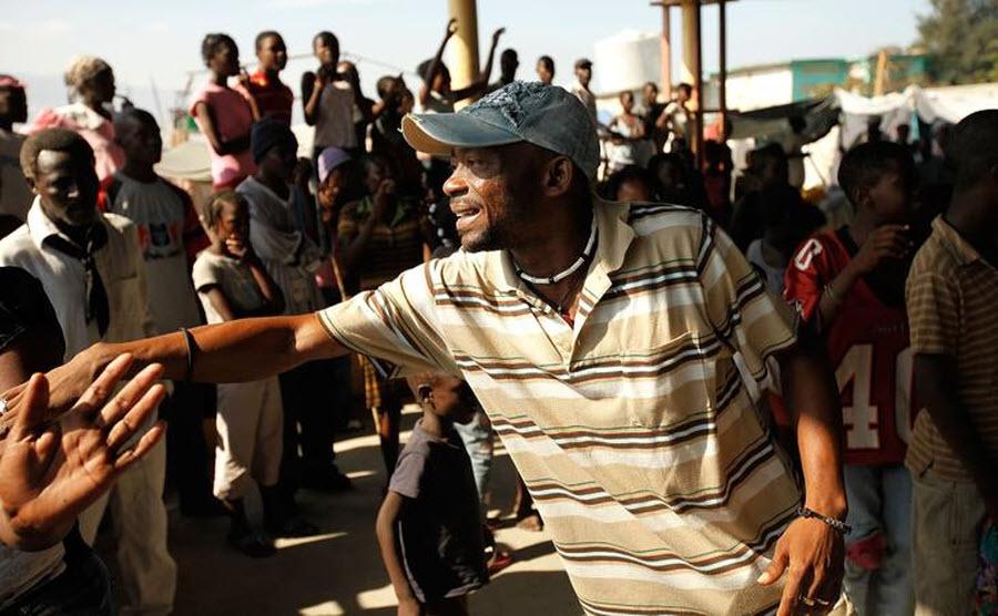 187 orang Kristen terhadap vuduistov di Haiti