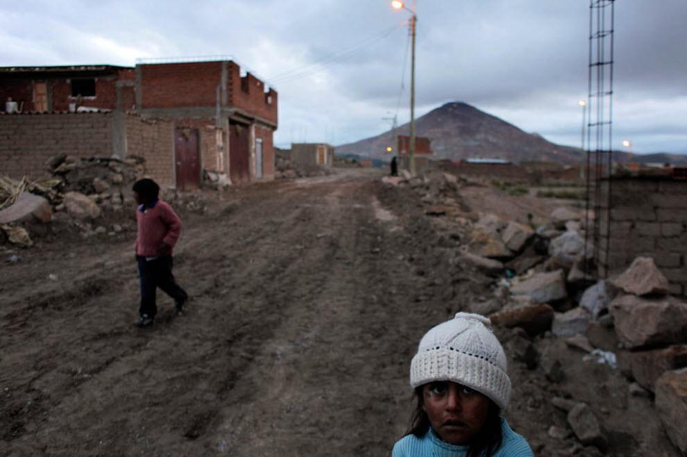 mineros en Bolivia