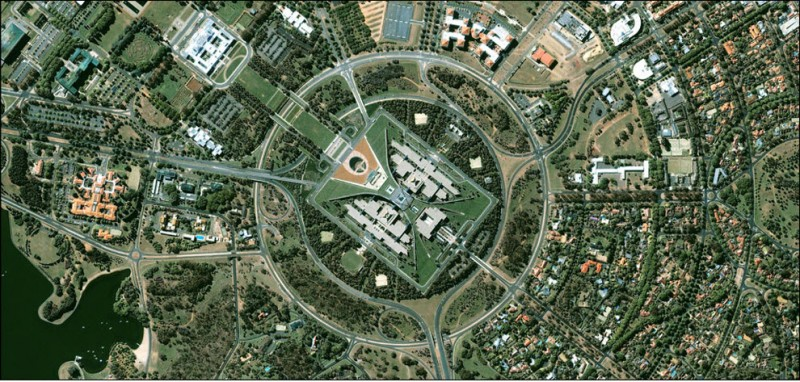 Города мира со спутника GeoEye