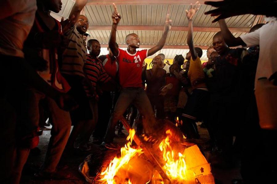 417 orang Kristen terhadap vuduistov di Haiti