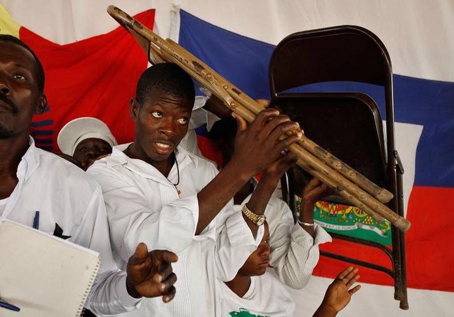 510 orang Kristen terhadap vuduistov di Haiti