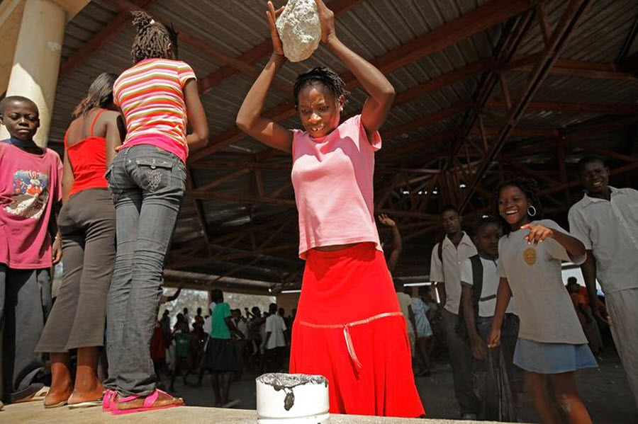610 orang Kristen terhadap vuduistov di Haiti