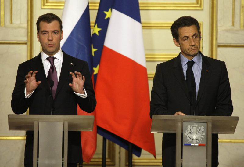 Визит президента Медведева вПариж