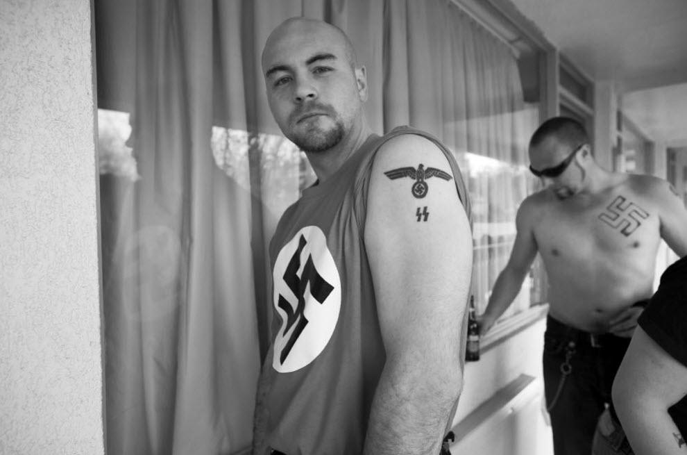 Татуировки белое движение