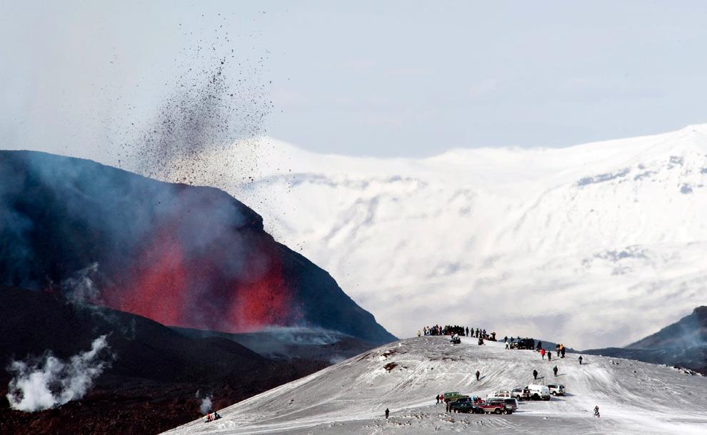 1040<br /> Извержение вулкана в Исландии (Часть 1)