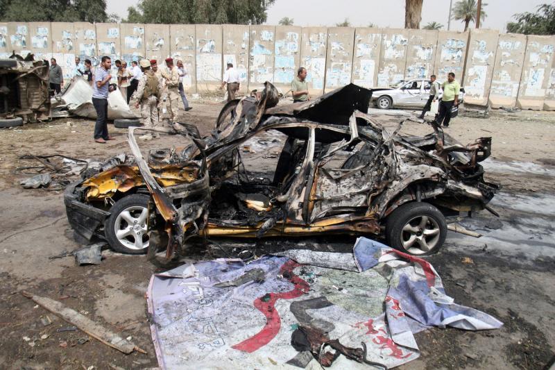 Теракты возле посольств в Багдаде