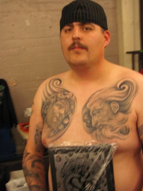 131 Выставка татуировок в Сан Франциско