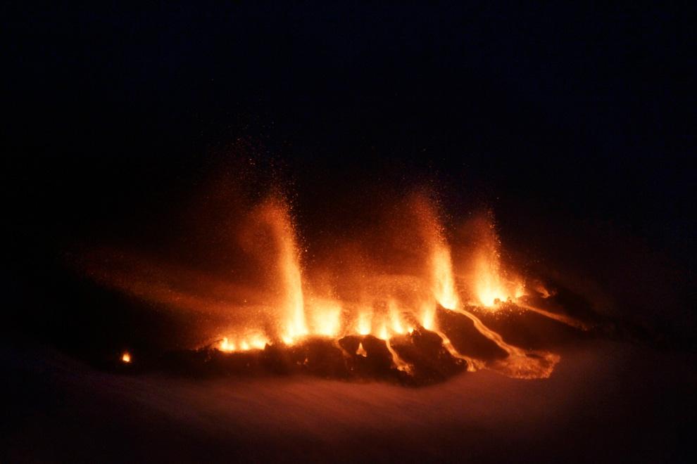 1336<br /> Извержение вулкана в Исландии (Часть 1)