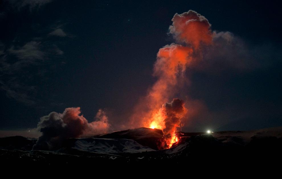 1434<br /> Извержение вулкана в Исландии (Часть 1)