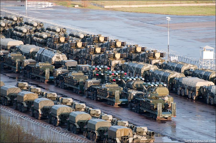 Военная техника на ходынке – 2010