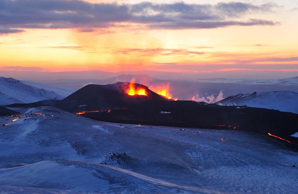 1725<br /> Извержение вулкана в Исландии (Часть 1)