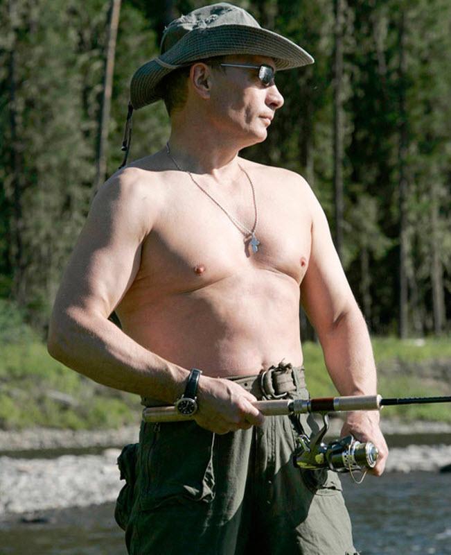 Путин секс символ