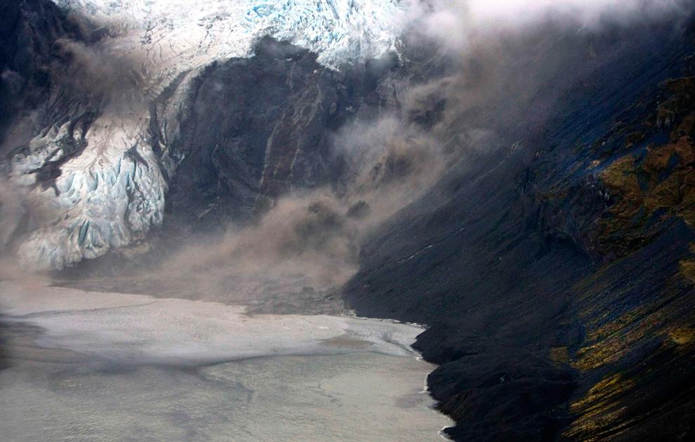 2102<br /> Извержение вулкана в Исландии (Часть 1)