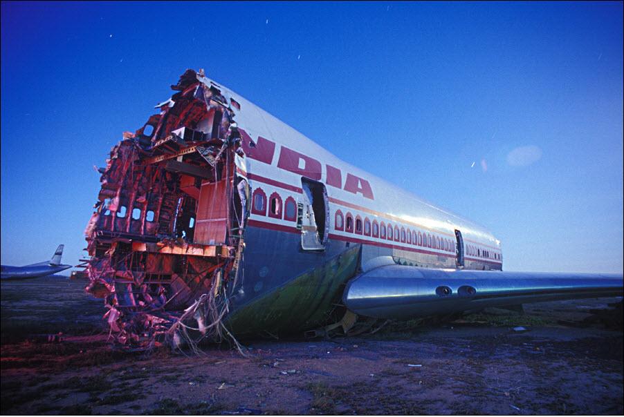2418 Кладбища самолетов