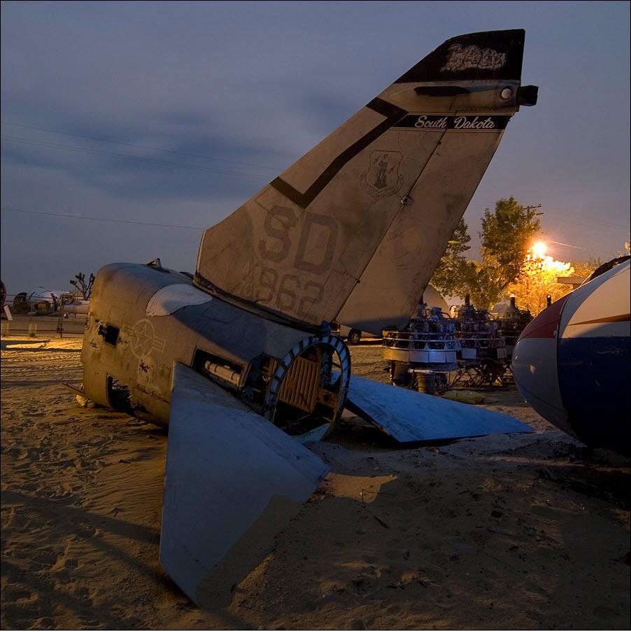 454 Кладбища самолетов