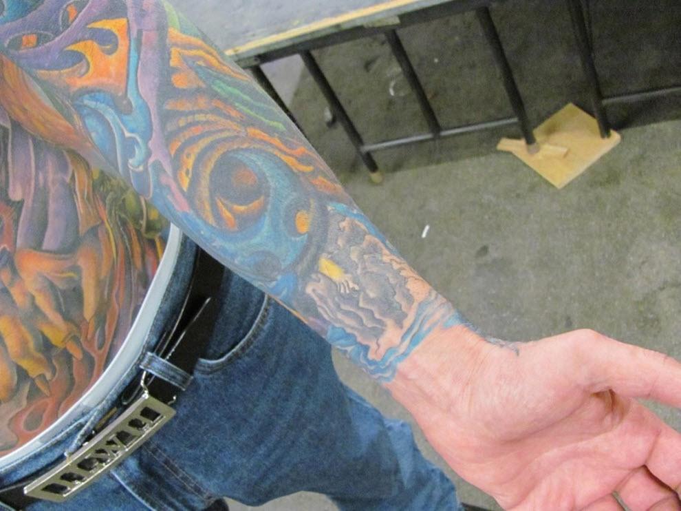 52 Выставка татуировок в Сан Франциско