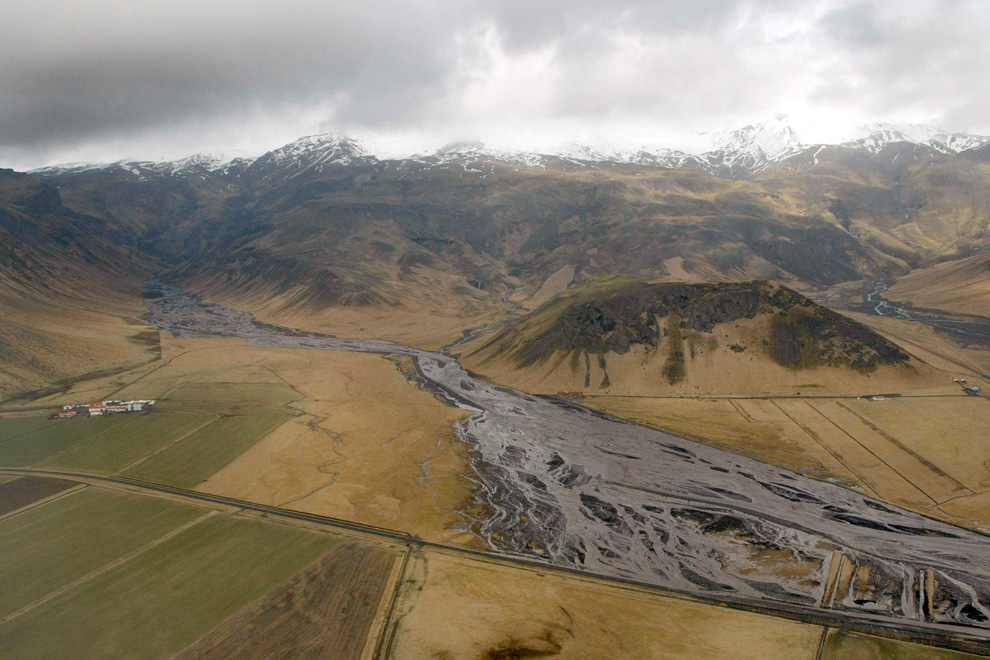 535 <br />Извержение вулкана в Исландии (Часть 1)