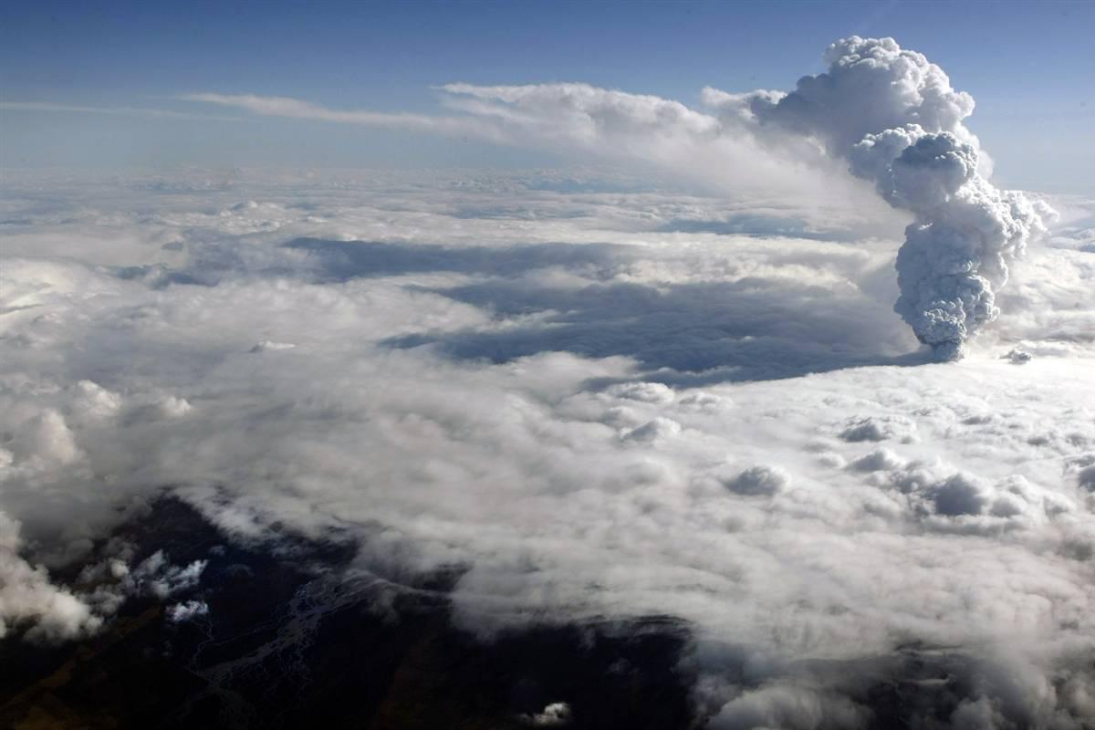 537 <br />Извержение вулкана в Исландии (Часть 1)