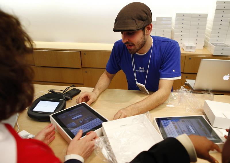 Продажа iPad от компании «Apple»
