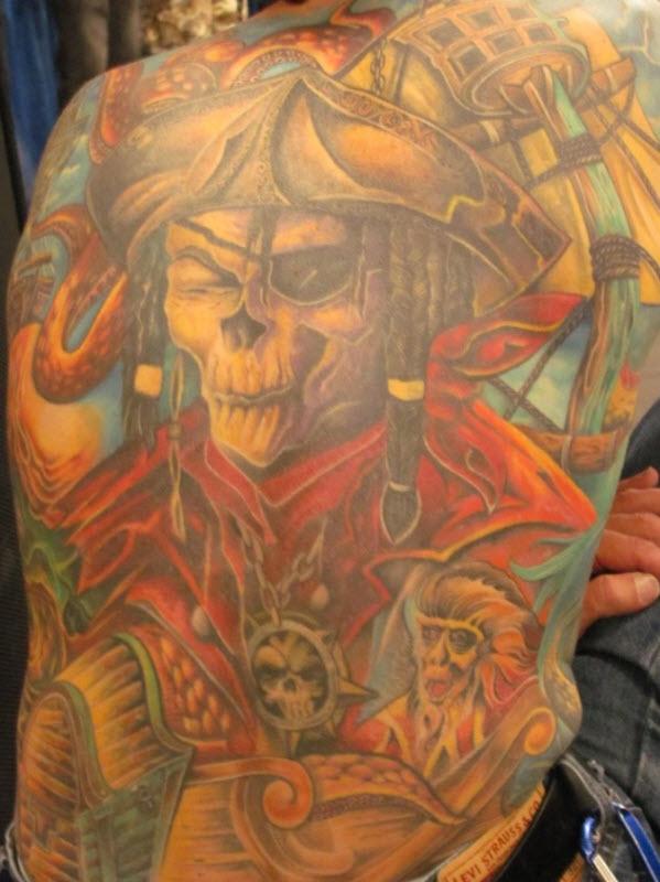 62 Выставка татуировок в Сан Франциско