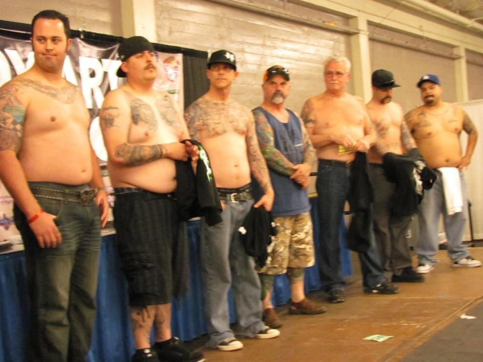72 Выставка татуировок в Сан Франциско