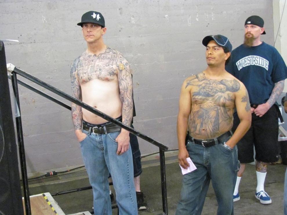 82 Выставка татуировок в Сан Франциско