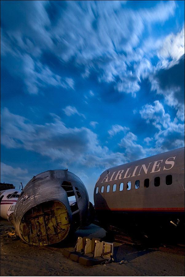 833 Кладбища самолетов