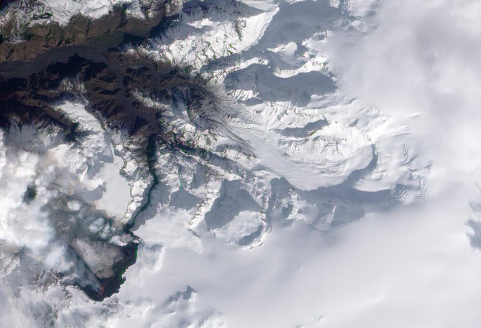 834 <br />Извержение вулкана в Исландии (Часть 1)